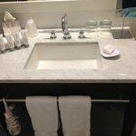 Vanity in bathrrom