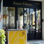 Baan Dinso sign