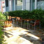 Baan Dinso - outdoor seats