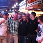 Celtic trip, Charlie visiting Didac
