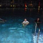 ..men trägen vinner, dock föll ALLA i vattnet :)