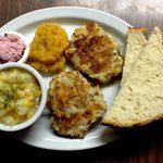 Fish Cakes & Chowder