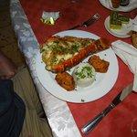 Dinner: lobster