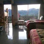 View dari kamar langsung melihat gunung