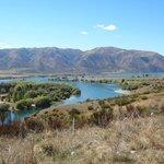 Series of lakes and dams