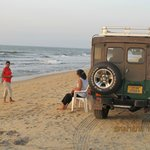 Negombo Beach just 20km away.