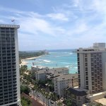 view from room towards Diamond Head