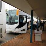 Busse für Touristen
