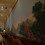 Mural in 1911 Restaurant