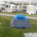 Another friend's tent