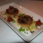 Beetroot & Sweet Potato Tarts