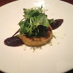 Pan-fried Goats Cheese