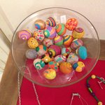 Bowl of painted snails!