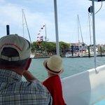 Yardarm on the Beaufort docks.