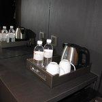 Complimentary drinks (coffee, tea, water)