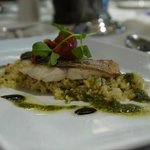 Sea Bass with Cous Cous
