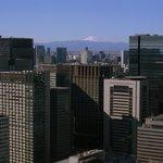 天気が良いと富士山も見えます