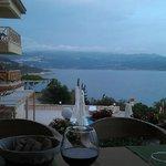 Вид из ресторана отеля на Каш