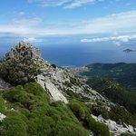Panorama dal Monte Capanne