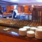 Buffet petit-déjeuner (problème de cuisson pour les croissants)