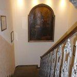 Escalier menant au 1er étage