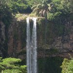 waterfalls at chamarel