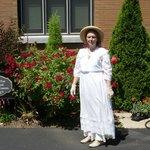 Dressed up for a Vintage High Tea Event