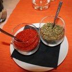 épices (thym et piment)