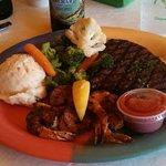 Overdone steak