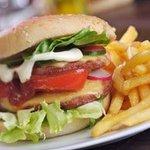 Delicious hamburguer