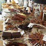A display of chocolates