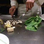 Chef at Kabuki Japanese restaurant Germany