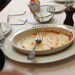 Empty Lasagna Plate