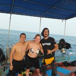 ...with my dive instructor Ty