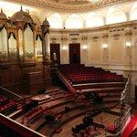 La sala grande del Concertgebouw