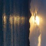 Scott Beach at sunset