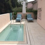 Canyon Suite private spa/pool