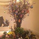 Albero di Pasqua nella reception