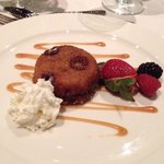 Catered meal: Denise's sticky toffee pudding