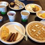 Nice complimentary breakfast