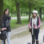 versailles segway tour with Eva Green