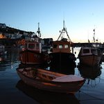 Boats Bobbing Down In The Harbour