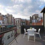 Eric Vokel BCN Suites penthouse front terrace