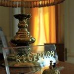 La lampada della reception!