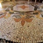 Il mosaico dell'ingresso!