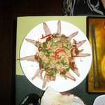 Roasted Duck with Bananaflower Salad