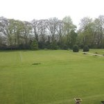 croquet lawn also view from room 16