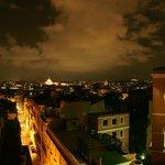 Ночной Рим из ресторана гостиницы Барберини (2)