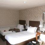 Chambre avec 2 lits très confortables