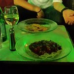 Spaghetti und Ravioli